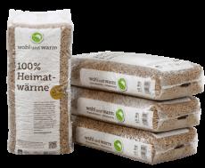 Wohl & Warm-Holzpellets 66x15kg Palette