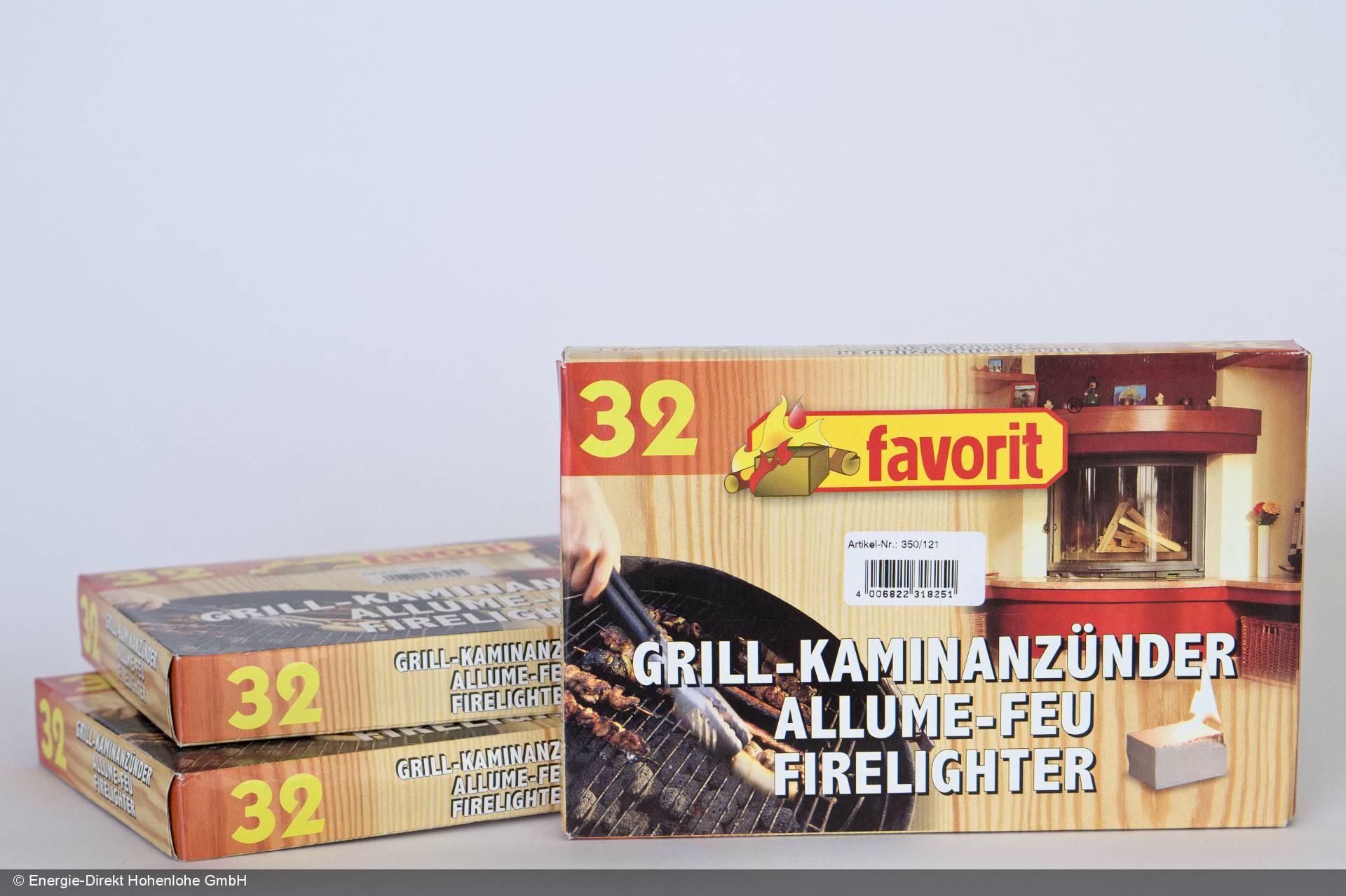favorit grill- und kaminanzünder
