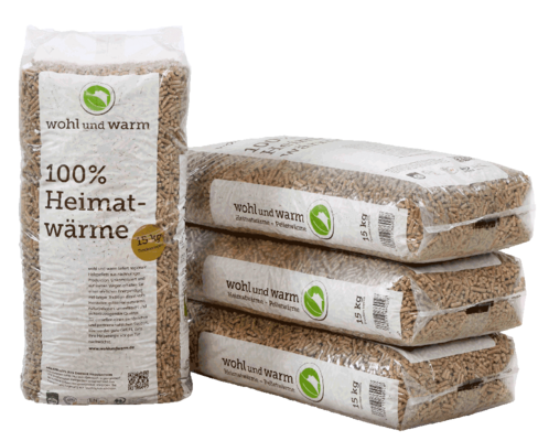 Wohl&Warm (Bioenergie)-Holzpellets 66x15kg Palette