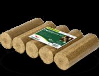 Energo Hard Top-Holzbriketts 100x10kg Palette, rund ohne Loch